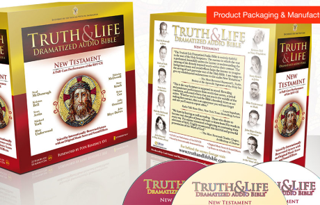 New Truth & Life Dramatized audio Bible – Website, e-Com & Apps