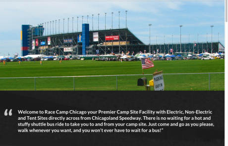 Race Camp Chicago Responsive WordPress Website launched